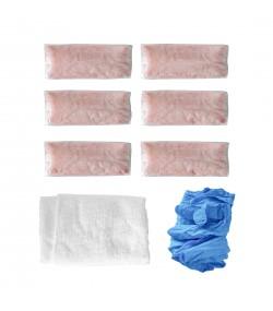 Cape Cod Polishing кутия с 12 броя кърпи за полиране, суха кърпа и ръкавици