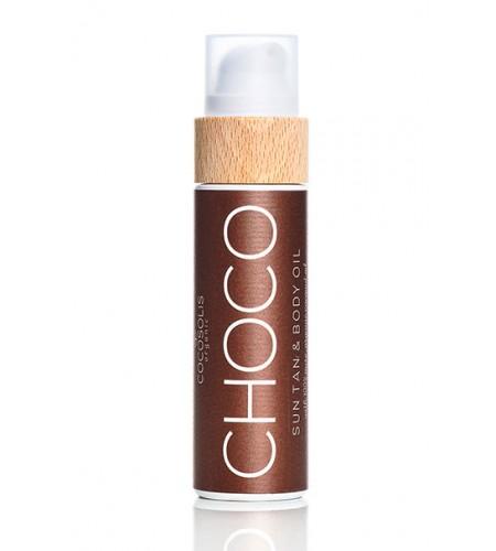 Cocosolis Шоколад хидратиращо и подхранващо био масло за тяло 110 мл.