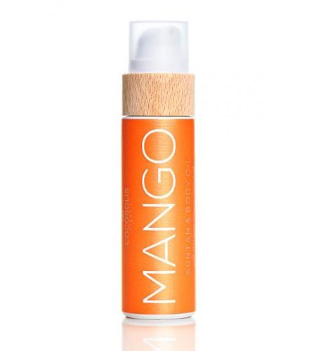 Cocosolis Манго хидратиращо и подхранващо био масло за тяло 110 мл.