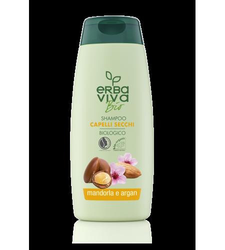Шампоан за суха коса с Бадем и Арган Erba Viva Bio 250 мл.