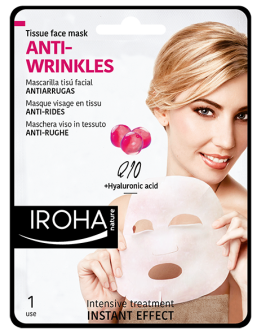 IROHA Изглаждаща маска за лице с Q10