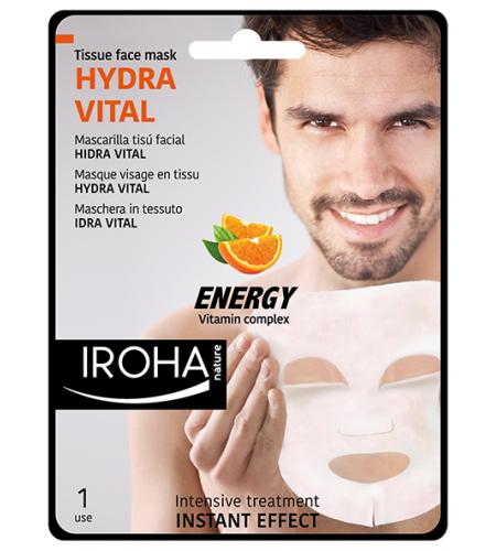 IROHA Мъжка маска с витамини