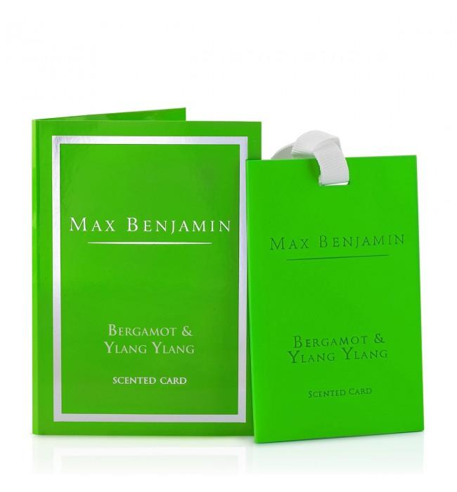 Бергамот и Иланг Иланг Луксозна ароматна карта Max Benjamin