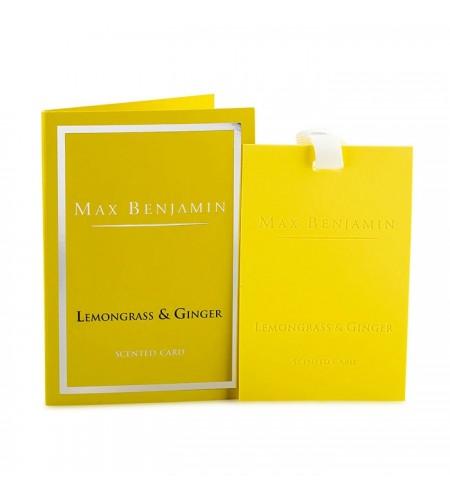 Лимонена трева и Джинджифил Луксозна ароматна карта Max Benjamin
