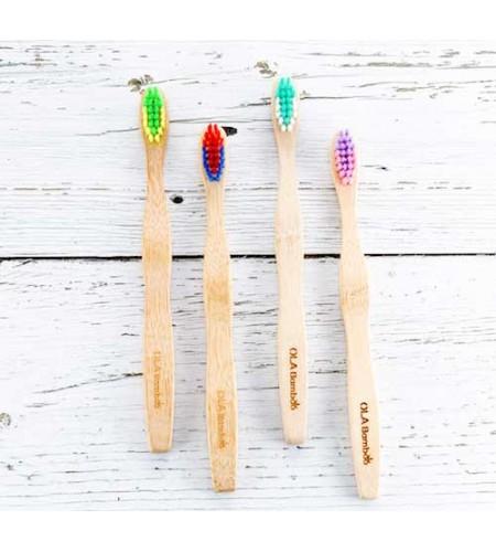 Детска четка за зъби OLA Bamboo
