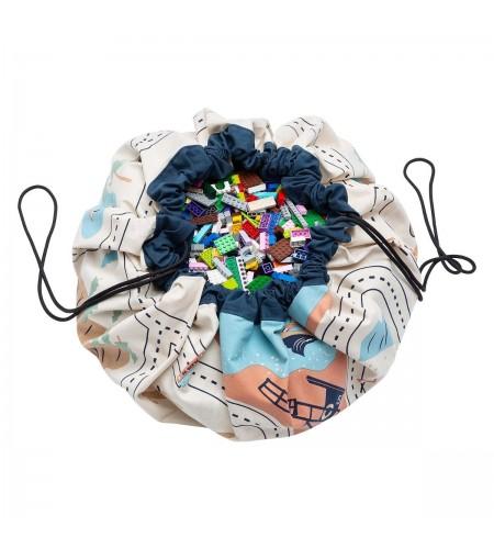 Торба за съхранение на играчки (LA пътна карта) Play&Go