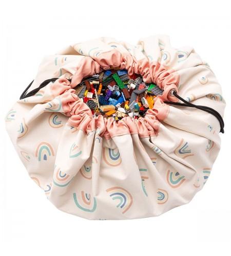 Торба за съхранение на играчки (дъга) Play&Go