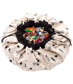 Торба за съхранение на играчки (светещ космос в тъмното) Play&Go