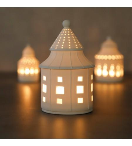 Порцеланова светеща къщичка мечта