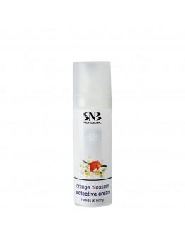 SNB Professional Предпазващ крем за ръце и тяло Портокалов цвят 30 мл