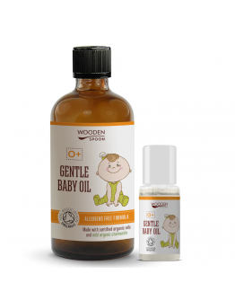 Нежно бебешко олио WOODEN SPOON 100 мл.